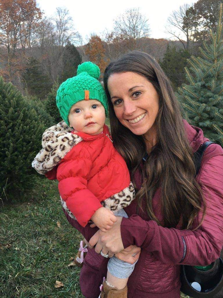ashley curran with daughter